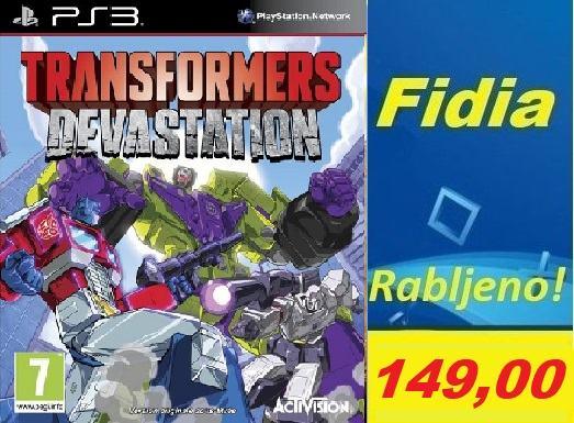 Transformers Devastation PS3