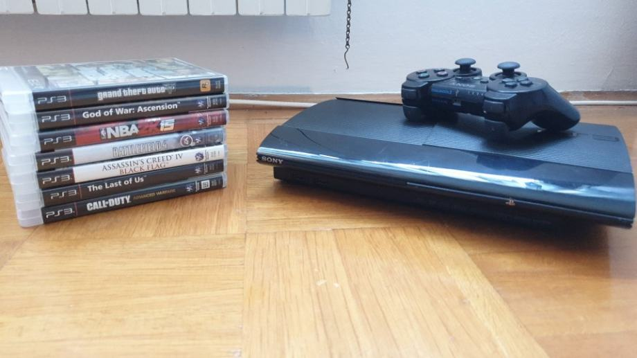 Playstation 3 + igrice