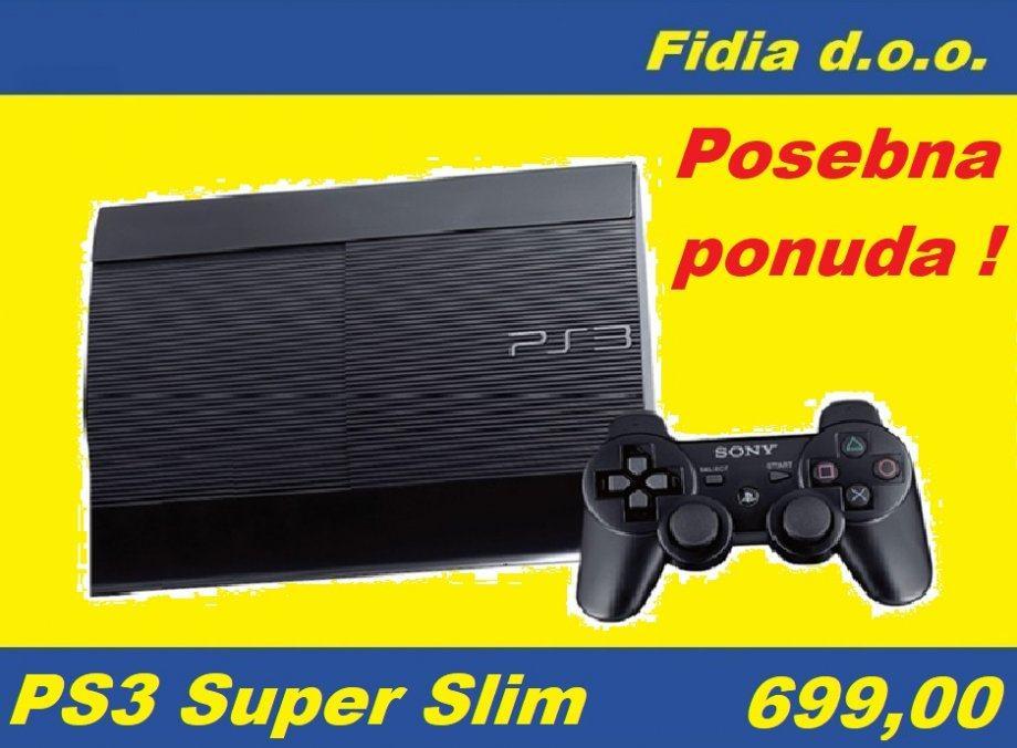 ⭐️⭐️ PS3 SUPER SLIM + 1 IGRA ⭐️⭐️