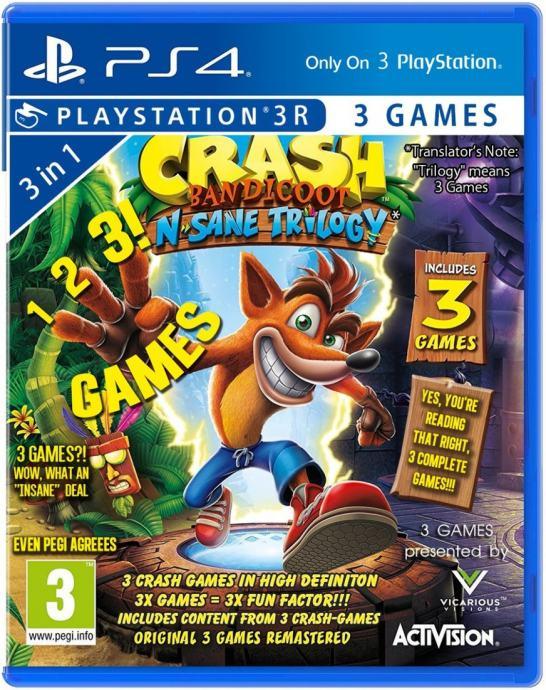 Crash Bandicoot Trilogy - PS4