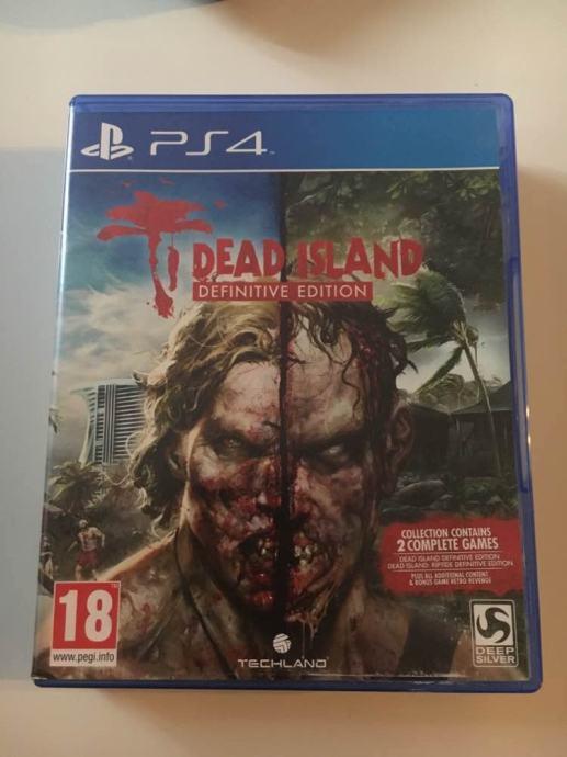 Dead Island Definitive Edition Tri Igre PS4