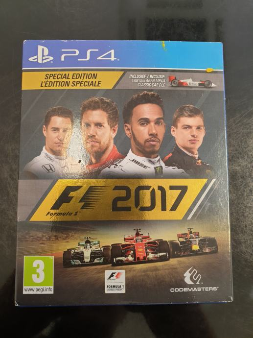F1 2017, PS4 igrica!