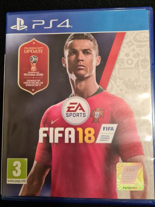 FIFA 18 PS4 igra