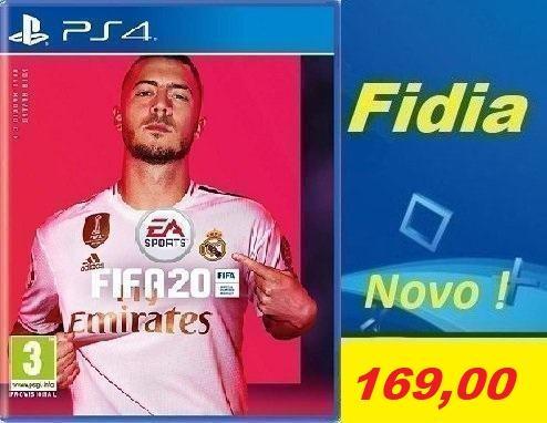 FIFA 20 PS4 - NOVO!