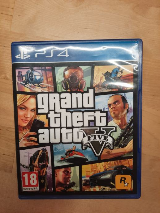GTA five za PS4