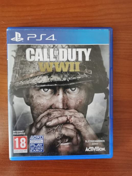 Igre za PS4 , call of duty, doom, good of war i batterfield