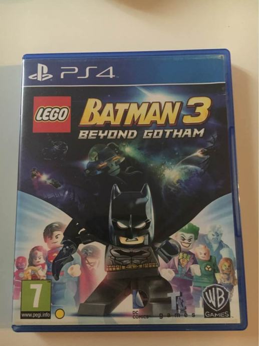 LEGO Batman 3 Beyond Gotham PS4 Playstation 4 Igra Besplatna Dostava