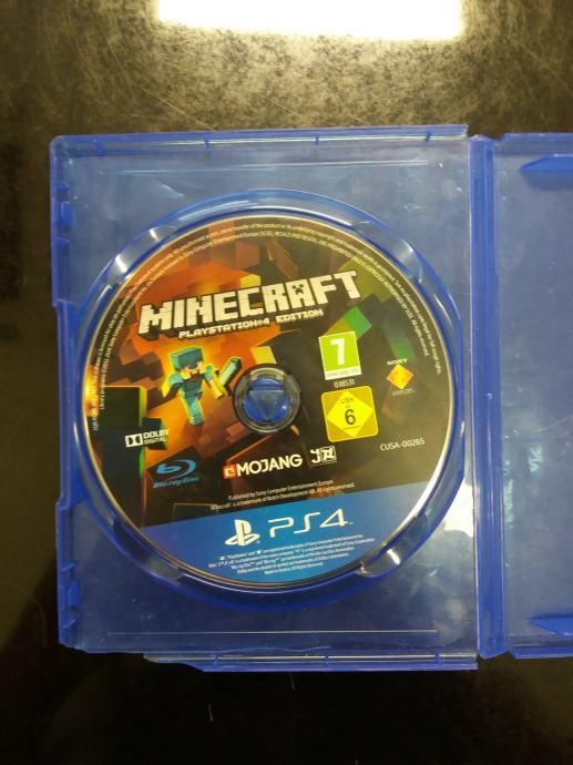 Minecraft, PS4 igrica!
