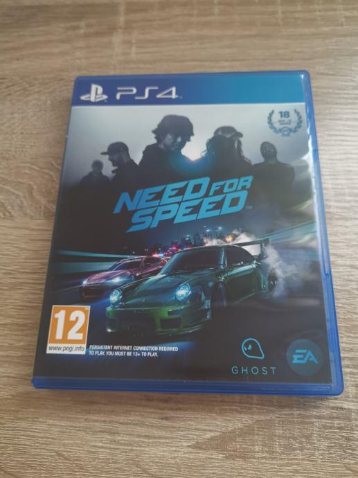 Need for speed PS4 igra   Novo   Račun