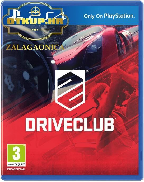 PS4 IGRA DRIVECLUB / R1, RATE!!