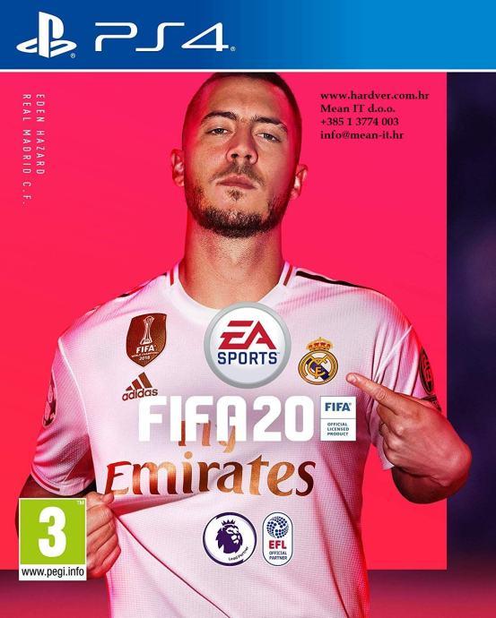 PS4 igra FIFA 20 | Novo | Original | Račun