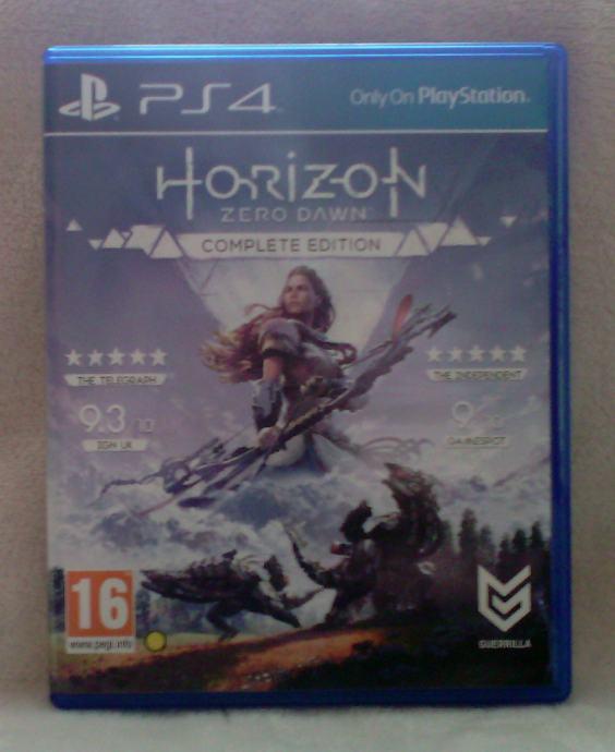PS4 igra Horizon Zero Dawn - Complete Edition