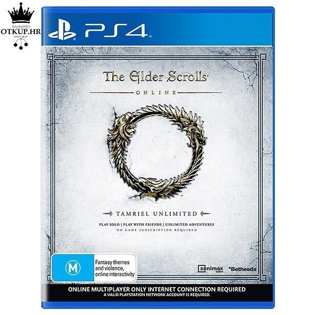 PS4 IGRA THE ELDER SCROLLS ONLINE // R1, RATE !!