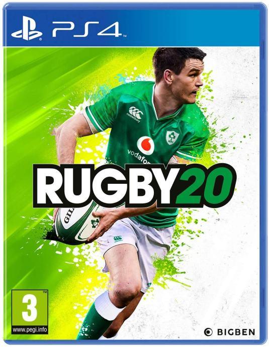 Rugby 20 PS4 igra,novo u trgovini,račun