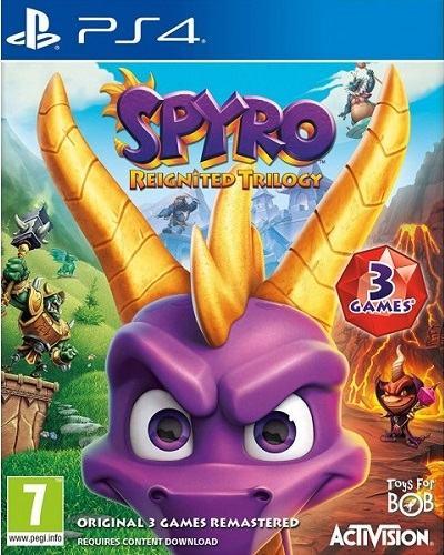 Spyro: Reignited Trilogy PS4 (novo/račun) *AKCIJA*