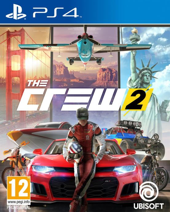 The Crew 2 (Playstation 4 - korišteno)