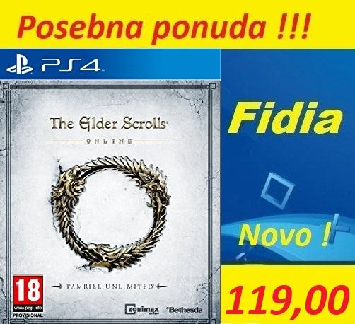 THE ELDER SCROLL PS4