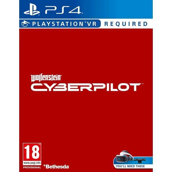 Wolfenstein: Cyberpilot PS VR PS4 igra,novo u trgovini,račun