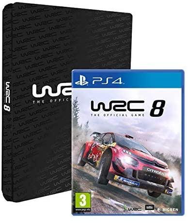 WRC 8 Collectors Edition PS4 igra,novo u trgovini,račun