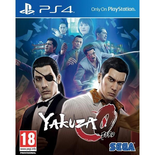 Yakuza 0 (Zero) PS4 igra,novo u trgovini,račun