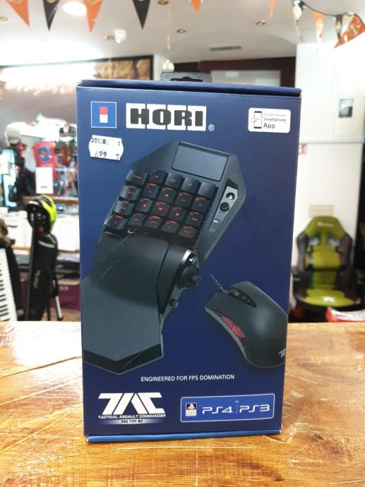 Kontrolor Hori pro type M2 (ps4/ps3/mobile/pc)