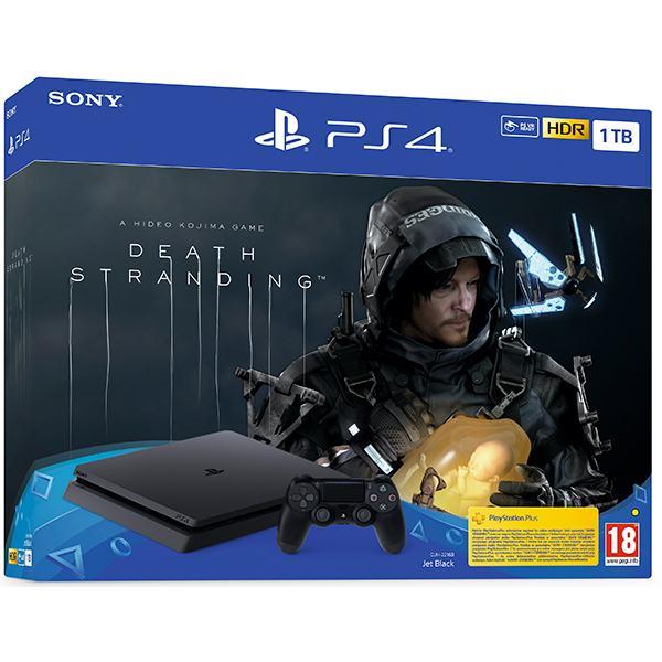 PlayStation 4 1TB F chasis Black+Death Stranding,novo u trgovini,račun