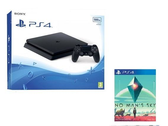 PlayStation 4 500GB Slim + No Man's Sky,novo u trgovini AKCIJA !