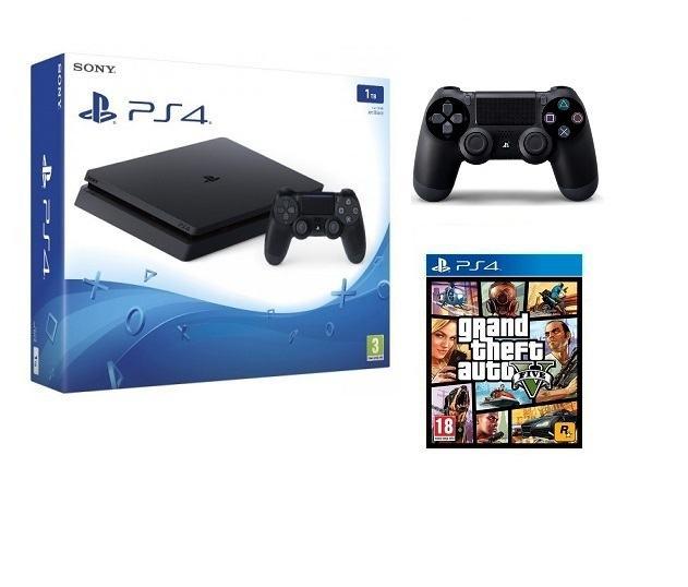PlayStation PS4 1TB +2 Controlera  + GTA V ,novo u trgovini,AKCIJA !