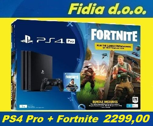 ⭐️⭐️ PS 4 PRO 1TB + Fortnite + Igra / Rabljeno !!! ⭐️⭐️