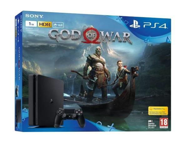 PS4 1 TB Slim God of War,novo u trgovini,račun,gar 1 god AKCIJA !