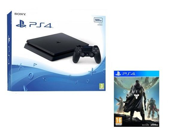 PS4 500 GB SLIM + Destiny,novo u trgovini,račun,gar 1 god