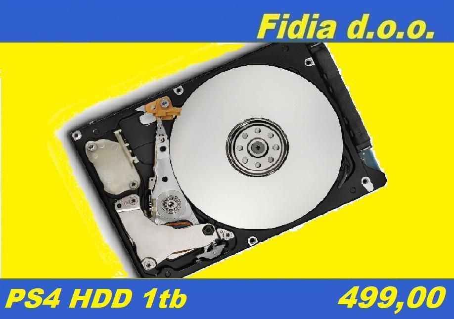 ⭐️⭐️ PS4 HDD 1tb - 499,00 ⭐️⭐️