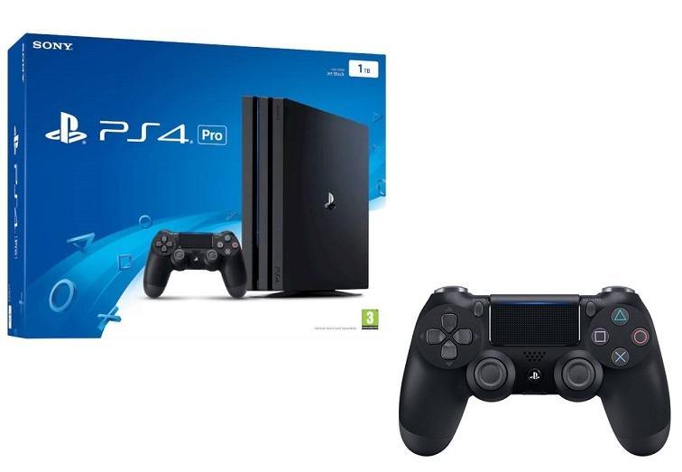 PS4 Pro 1 TB + dodatni  kontroler,novo u trgovini,račun i gar 1 godina