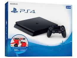 ● PS4 SLIM 500GB + NBA 2K18 ●  12. MJ. JAMSTVA ●