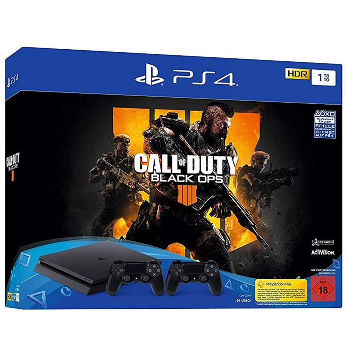 PlayStation 4 Slim 1TB + dodatni kontroler + Black Ops 4 PS4