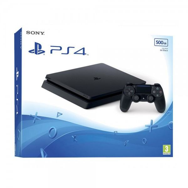PlayStation Sony PS4 500GB Slim crna,novo u trgovini,AKCIJA