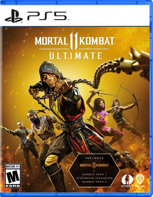 PS5 igra Mortal Kombat 11 Ultimate I NOVO I Original I Račun