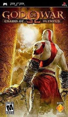 GOD OF WAR CHAIN OF OLYMPUS PSP