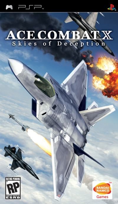 ACE COMBAT X SKIES OF DECEPTION PSP IGRA,NOVO U TRGOVINI