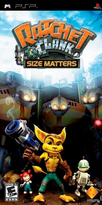PSP igra Ratchet & Clank - Size Matters