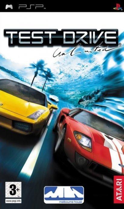 PSP igra Test Drive Unlimited