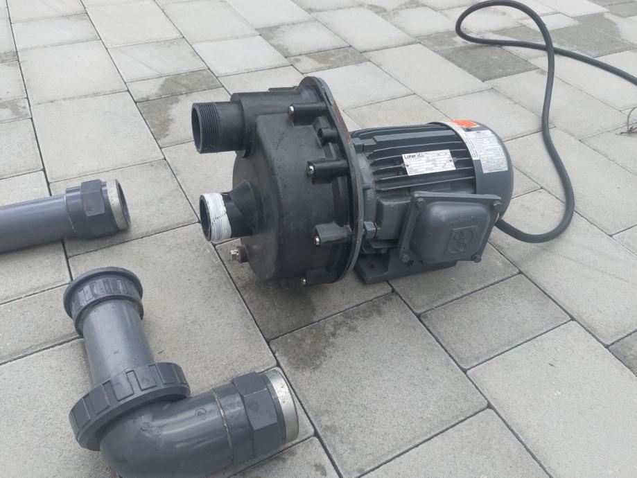 Protustrujno pumpa UWE, protustrujno plivanje Bazen