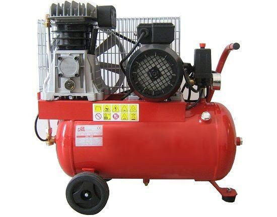 KLIPNI KOMPRESOR 1,5 kW, posuda 50 l  - GG190-50