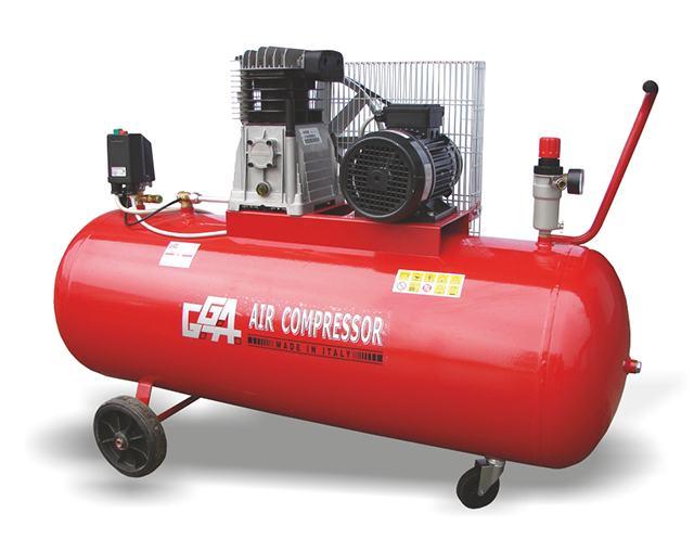 Klipni kompresor 3 kW, posuda 200 l - GG560-200