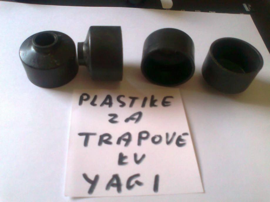 PLASTIKE ZA TRAPOVE KV YAGI 38/15 mm