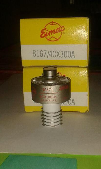 Lampe 4CX300A  2 kom nove