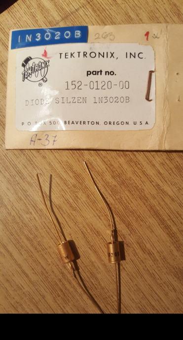 Tektronix diode 1n3020B