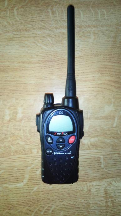 Radio stanica Midland G-9  PMR+LPD