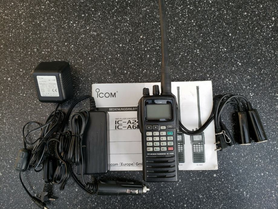 Ručna Radio stanica ICOM IC-A6E, AirBand