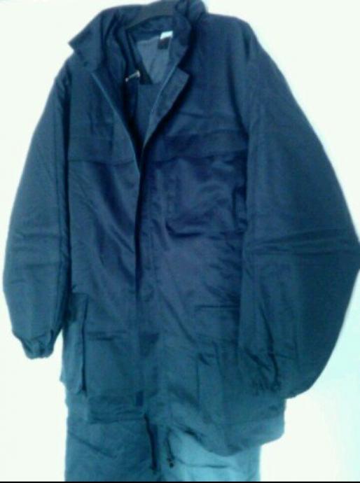 Muško zimsko radno plavo odijelo br. 50 sa utopljenjem